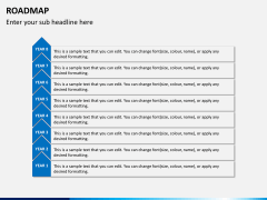 Roadmap bundle PPT slide 8