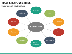 Roles and responsibilities PPT slide 19