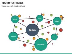 Text boxes bundle PPT slide 136