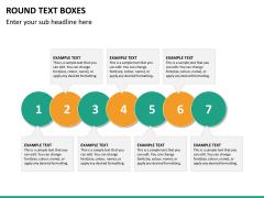 Text boxes bundle PPT slide 127