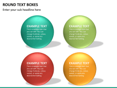 Round text boxes PPT slide 15