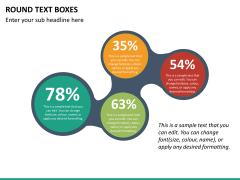 Text boxes bundle PPT slide 130