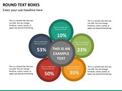 Text boxes bundle PPT slide 131