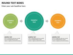 Text boxes bundle PPT slide 133