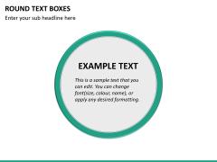 Text boxes bundle PPT slide 134