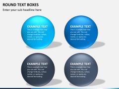 Text boxes bundle PPT slide 54