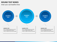 Round text boxes PPT slide 7