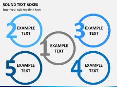 Text boxes bundle PPT slide 60