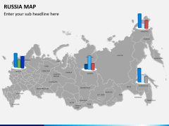 Russia map PPT slide 17