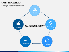 Sales enablement PPT slide 1