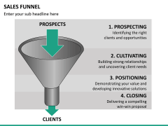 Sales funnel PPT slide 34