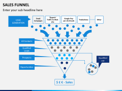 Sales funnel PPT slide 16