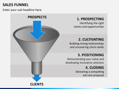 Sales funnel PPT slide 17