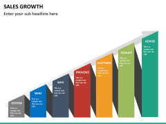 Sales growth PPT slide 12