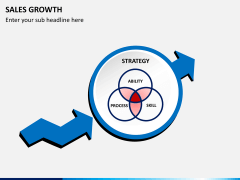 Sales growth PPT slide 2