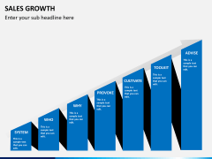 Sales growth PPT slide 3