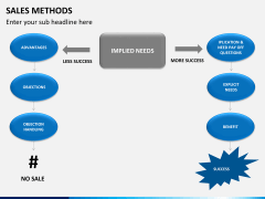 Sales method PPT slide 9