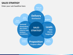 Sales strategy PPT slide 1