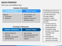 Sales strategy PPT slide 9