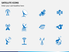 Satellite Icons PPT slide 2
