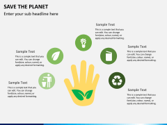 Save the planet PPT slide 3