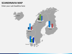 Scandinavia map PPT slide 14