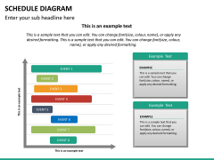 Schedule diagram PPT slide 15