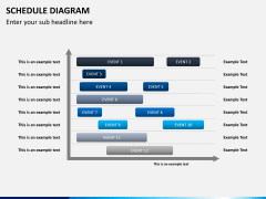 Schedule diagram PPT slide 4