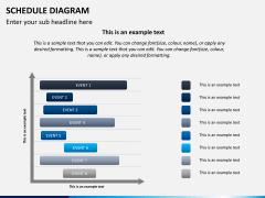 Schedule diagram PPT slide 6