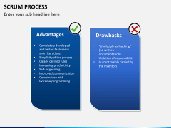 SCRUM process PPT slide 17