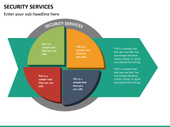 Security services PPT slide 17