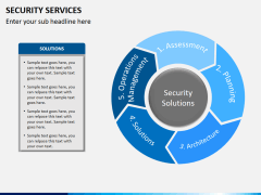 Security services PPT slide 12