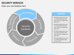 Security services PPT slide 8