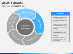 Security services PPT slide 9