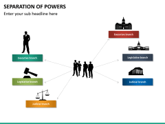 Separation of powers PPT slide 13