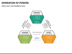 Separation of powers PPT slide 16