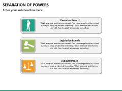 Separation of powers PPT slide 19