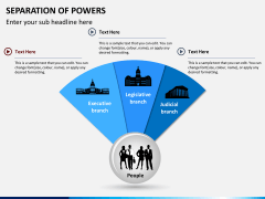 Separation of powers PPT slide 1