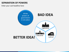 Separation of powers PPT slide 10