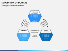 Separation of powers PPT slide 6
