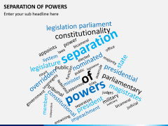 Separation of powers PPT slide 8