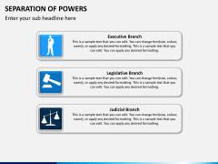 Separation of powers PPT slide 9