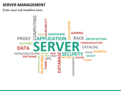 Server management PPT slide 17