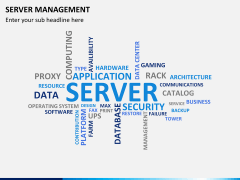 Server management PPT slide 8