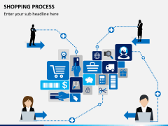 Shopping process PPT slide 2