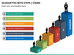 Silhouettes steps PPT slide 16