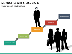 Silhouettes steps PPT slide 18