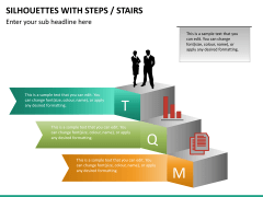 Silhouettes steps PPT slide 21
