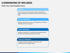 Six Dimensions of Wellness PPT slide 8
