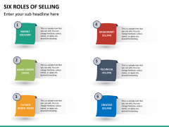 Six roles of selling PPT slide 12